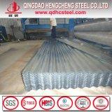 A792m Antifinger Corrugated Galvalume Metal Roofing Sheet