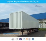 12.5 Meter 3 Axle Box Trailer or Van Semitrailer