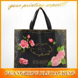 Custom Flowers Non Woven Shoulder Bag Shopping (BLF-NW039)