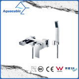 Chromed Waterfall Bath Shower Faucet with Hand Shower (AF6010-2B)