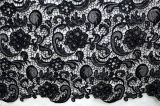 Flower Design Chemical Lace Fabric for Garment
