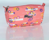 Cute Printing Pencil Case for Student, Made of PVC Leather