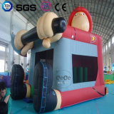 Hot Price Coco Water Design Inflatable One Piece Castle LG9043