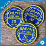 Circular with Lockrand Embroidery Clothing Patch