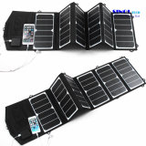 39W 18V/5V Dual Output Waterproof Outdoor Folding Solar Panel Charger for 12V Battery Charge