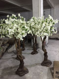 4f White Artificial Cherry Blossom Tree for Table Decoration