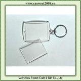 Clear Plastic Photo Keychain Insert Pictures Key Chain