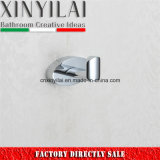 Special Economic Oval Brass Chrome Single Robe Hook