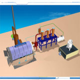 Used Tyre Recycling Plant to Oil by Pyrolysis