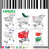 Supermarket Store Shopping Trolley Cart