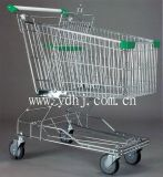 Rolling Trolley Supermarket Metal Wheeled Cart