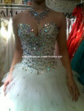 Gorgeous Sequin Bridal Wedding Dress (W-03)