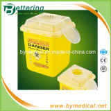 7.0L Disposable PP Plastic Sharps Syringe Container