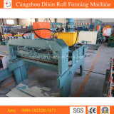 Metal Sheet Flattening Slitting Cutting Machine with Electric Decoiler