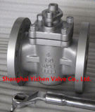 ANSI A216 Wcb PTFE Tapered Sleeve Plug Valve (ZX43)