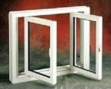 Factory Price Double Glazing Tempered Glass Casement Aluminum Window (ACW-008)