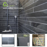 Bathroom Wall Covering Honed Surface Natural Black Slate with Best Price