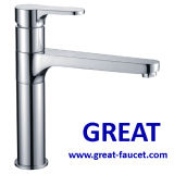 Solid Brass Kitchen Sink Faucet