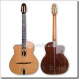 D Hole or Oval Hole Gypsy Jazz Guitar (AGJ160)