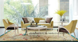 Modern Sectional Fabric Sofa with Armrest