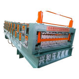 Lowest Price Glavanized Steel Double-Layer Roofing Tile Forming Machine