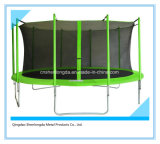 15FT Round Trampoline with Safety Net Enclosure