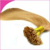 Top European Human Nail- Tip Human Hair Extension