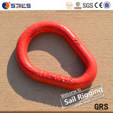 3/8 Forged Alloy Steel Red Pear Shaped Link