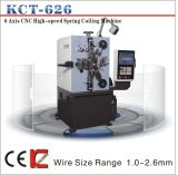 Kct-626 1.0-3.0mm 6 Axis CNC Compression Spring Coiling Machine&Spring Coiler