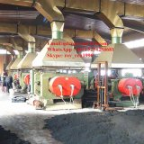 Xk-400 Open Type Rubber Mixing Mill with Stockblender
