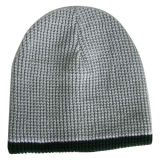 Knitted Beanie with Contrasting Trim NTD65