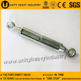 Zinc Plated Commercial Type Malleable Iron Turnbuckle