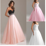 Cheap Discount Full Length Long Evening Prom Dresses (DS006)