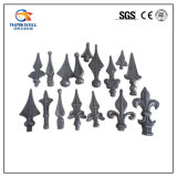 Forged Galvanized Wrought Iron Fence Spearpoint Head