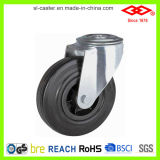Industrial Caster for Black Rubber Casters with Plastic Center (G101-31D075X25)