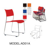 Plastic Clerk Chair, Plastic Stackable Chair, Plastic Conference Chair (AD01A)