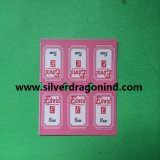 Cheap Design Coated Paper Sticker for Tea Bag