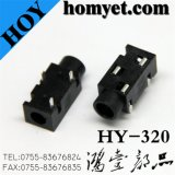 High Quality 3.5mm Phone Jack with 14*6*5mm 3.5mm Core (hy-32)