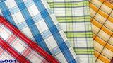 Yarn Dyed Shirt 60 Cotton 40 Polyester Fabric