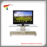 Glass and Wooden Well-Recevied TV Stand (TV059)