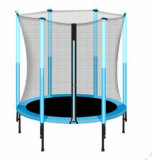 mini trampoline with safety net