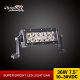 7.5inch 36W CREE LED Working Light Bar for Trucks