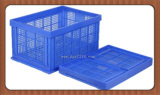 Customized High Quality Plastic Foldable Storage Basket for Fruit, Vegetable