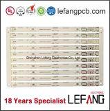 Lf HASL Aluminum LED Lighting PCB Board with High Lumen