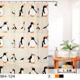 Penguins PEVA Shower Curtain for Bathroom