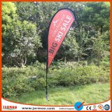 Outdoor Promotion Polyester Beach Teardrop Flag Banner