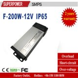 New DC 12V 200W Rain-Proof SMPS Single Output Series Switching Power Supply