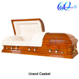 Chinse Soft Wood High Gloss Wholesale Casket and Coffin