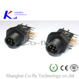 M12 Elbow 2, 3, 4, 5, 6, 8, 12 Pin Flange Plastic Adapter