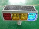 Solar Double Sides Flash Warning Light